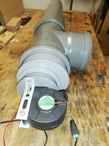 Rohranschluss Ventilator