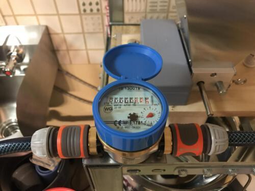 Wasserzähler Detail