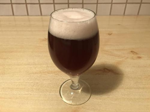 Klosterbier im Glas